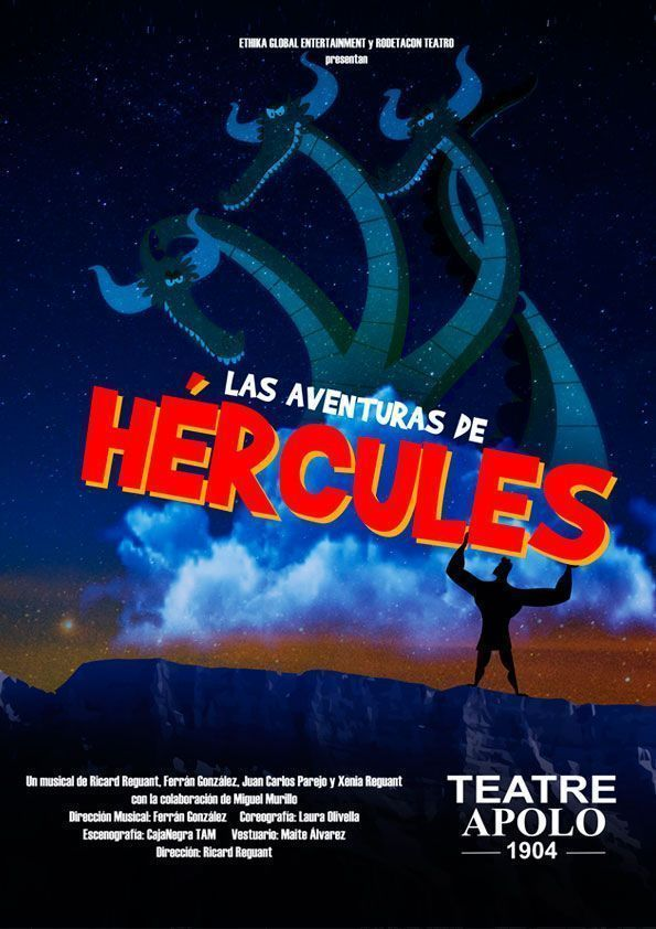 Hércules llega al Teatre APOLO