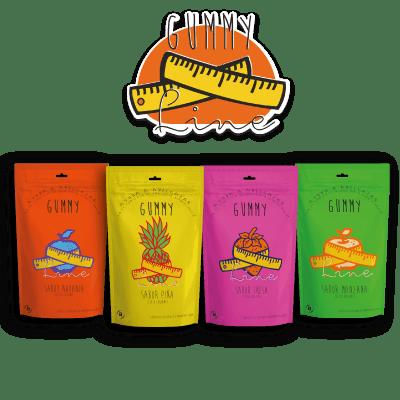Gummy Line, las primeras gummynolas adelgazantes