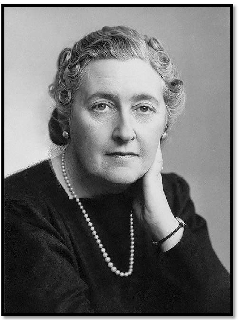 Agatha Christie, la novelista de género policial más leída