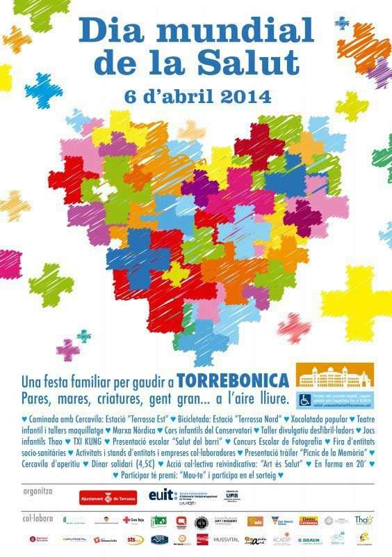 Cartell Dia Mundial de la Salud 2014