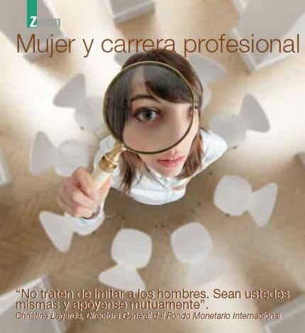 Mujer y carrera profesional Techo de cristal o techo de cemento