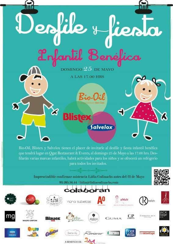 Fiesta Infantil Benéfica 25 de mayo de 2014- dDermis magazine