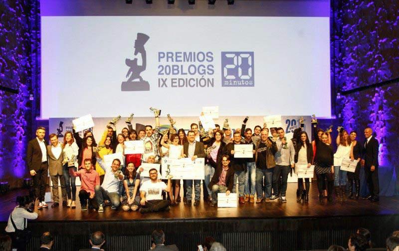 La esclerosis múltiple, galardonada IX Edición de los Premios 20Blogs