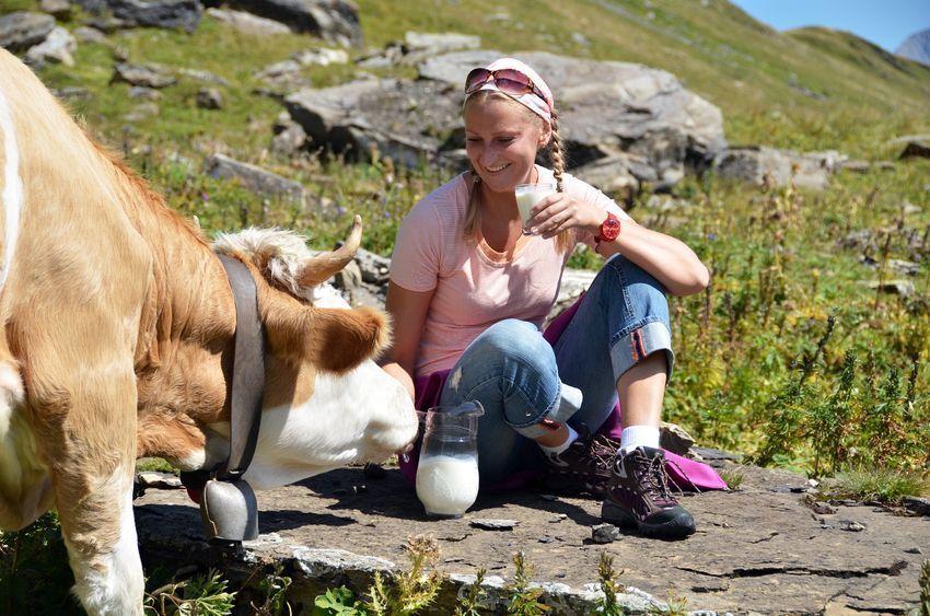 consumo de la leche cruda