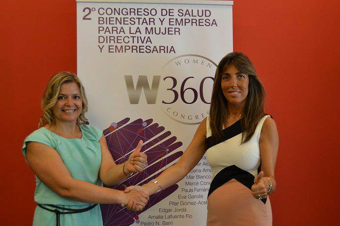 Rosa Cuscó y Lidia Codinachs, creadoras e impulsoras del Women 360° Congress